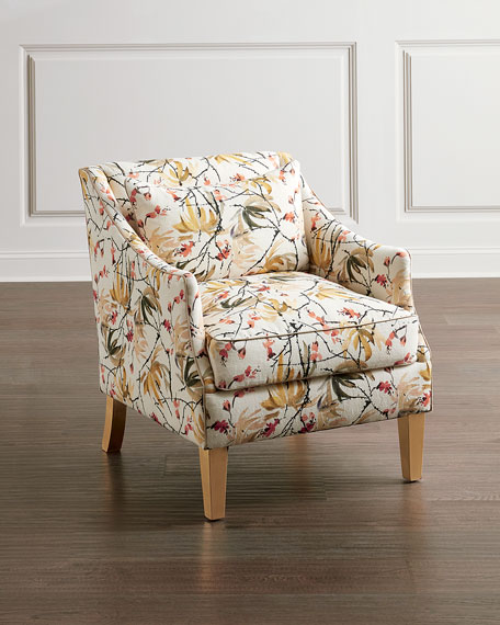 Image 1 of 2: John-Richard Collection Mid-Sized Occasional Arm Chair