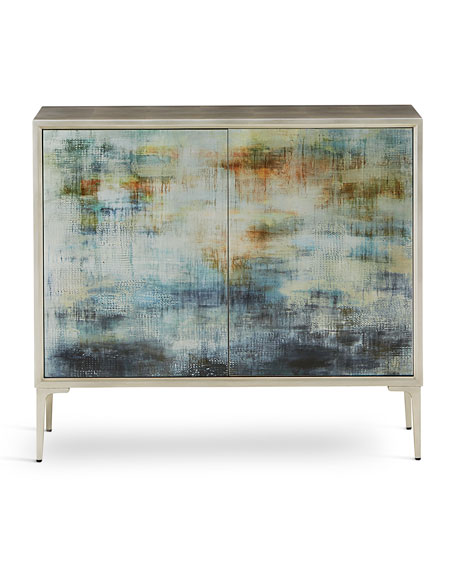 "Image 2 of 2: John-Richard Collection Shaye Rawson's ""Spring Rain"" Commode"