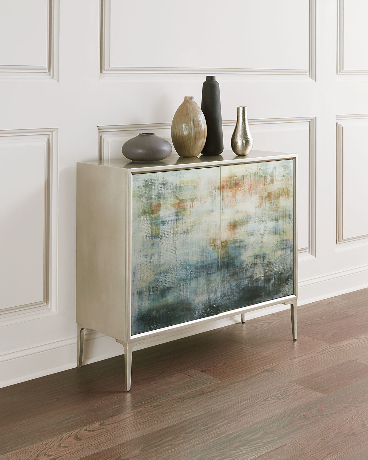 "John-Richard Collection Shaye Rawson's ""Spring Rain"" Commode"
