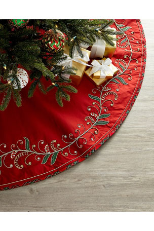 Kim Seybert Holiday Charm Tree Skirt