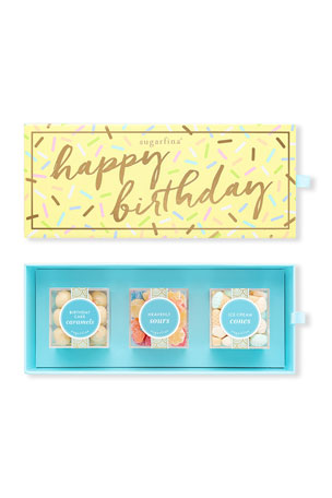 Sugarfina Happy Birthday 3-Piece Bento Box