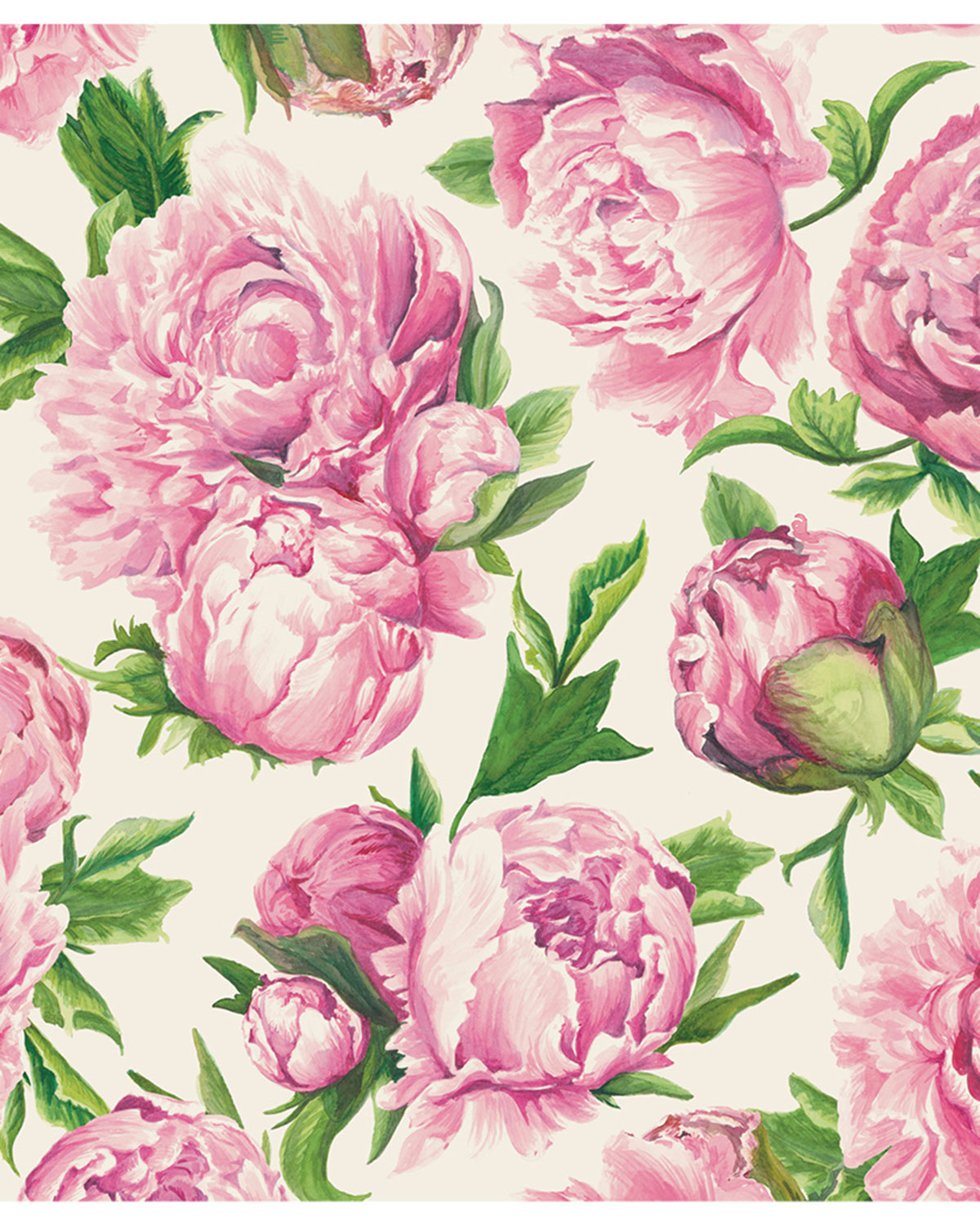 Hester & Cook Peonies in Bloom Placemats