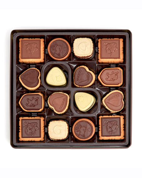 Image 2 of 2: Godiva Chocolatier 46-Piece Large Biscuit Assortment