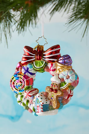 Christopher Radko Sweetest Swirl Christmas Ornament