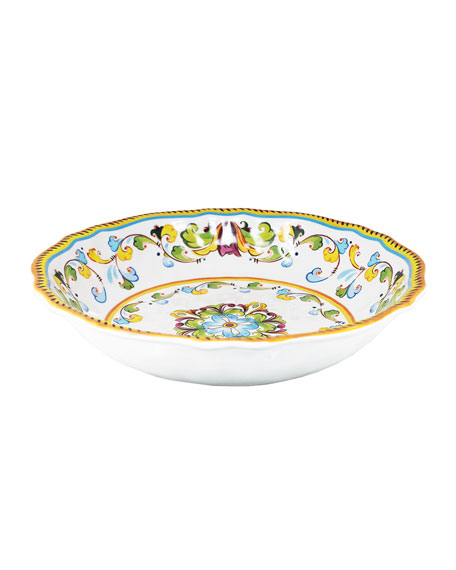Image 1 of 1: Toscana Melamine Salad Bowl