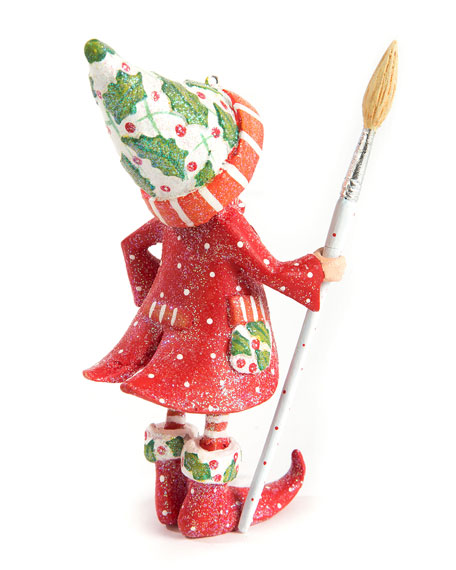 Image 2 of 2: Patience Brewster Dash Away Vixens Elf Ornament