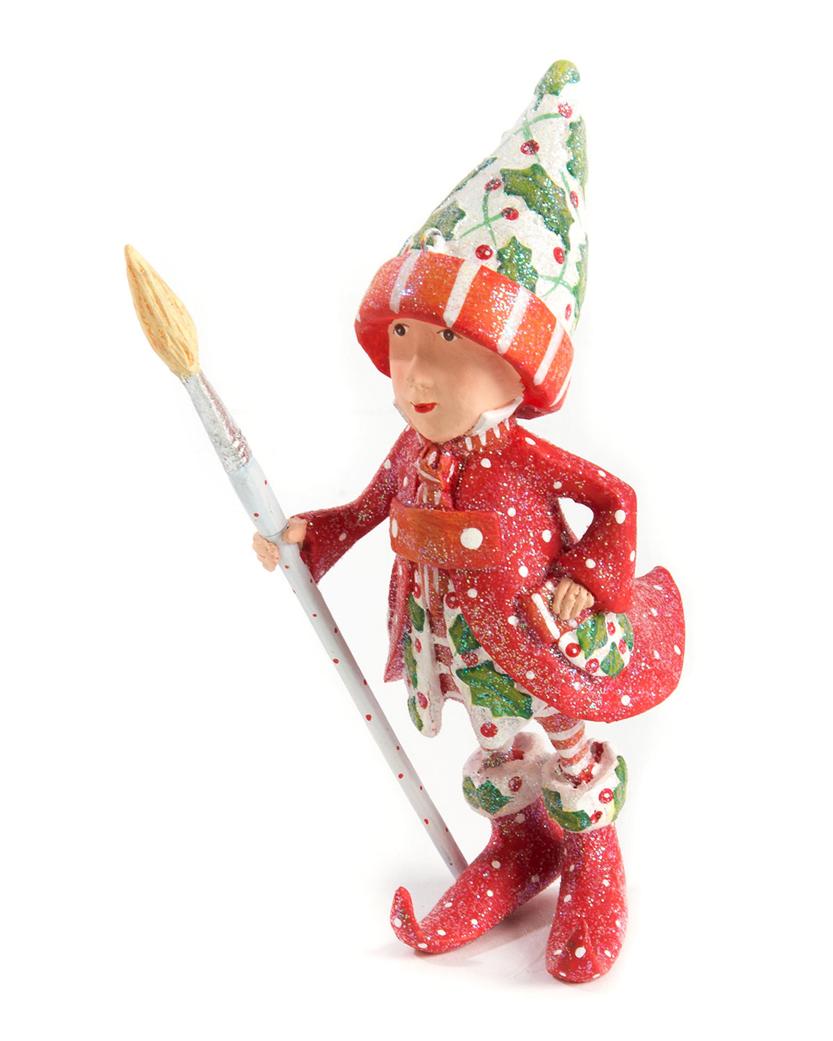 Patience Brewster Dash Away Vixens Elf Ornament