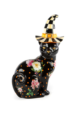 MacKenzie-Childs Flower Market Black Cat
