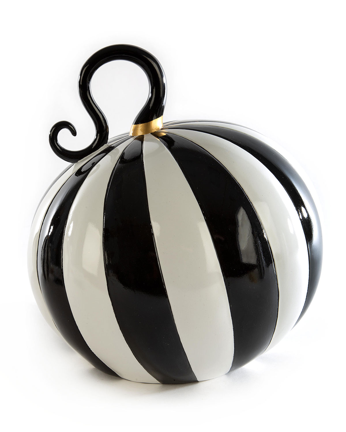 MacKenzie-Childs Mod Pumpkin, Large