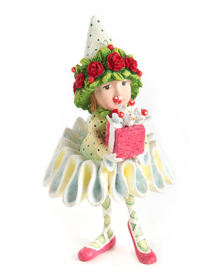 Image 1 of 2: Patience Brewster Dash Away Dancers Elf Ornament