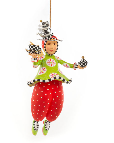 Image 1 of 2: Patience Brewster Paradise in a Cup Angel Ornament