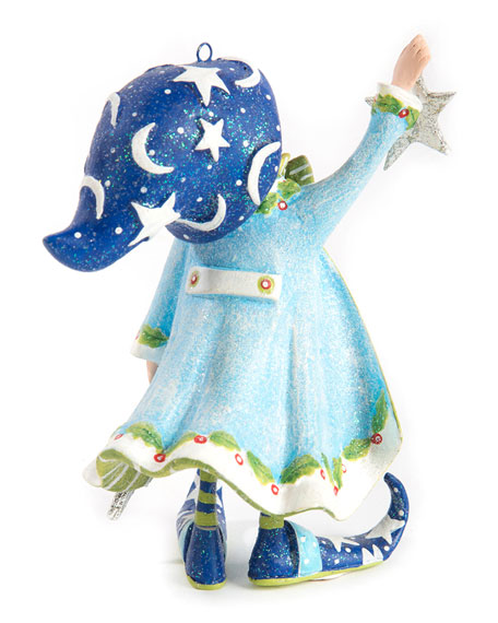 Image 2 of 2: Patience Brewster Dash Away Comets Elf Ornament
