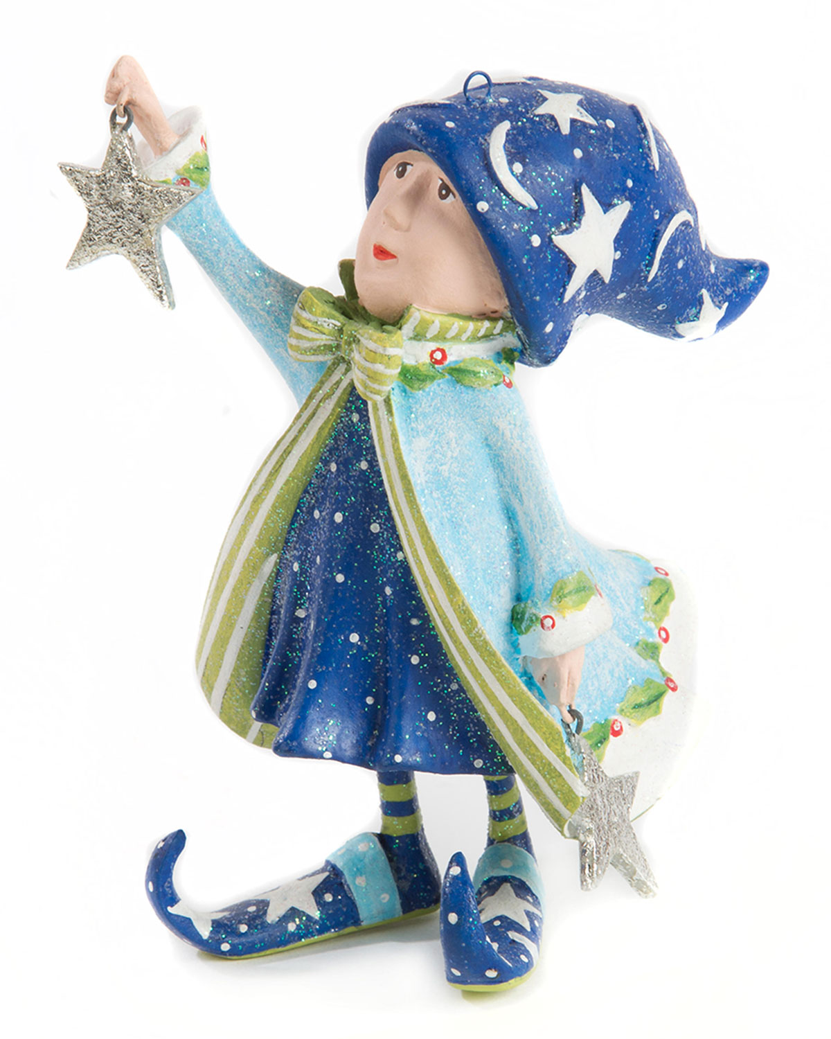 Patience Brewster Dash Away Comets Elf Ornament