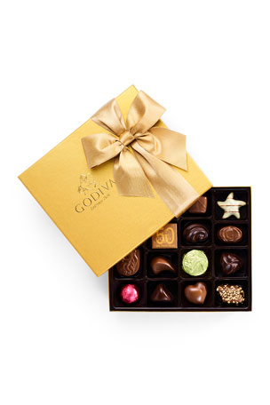 Godiva Chocolatier 19-Piece Assorted Chocolate Gold Gift Box