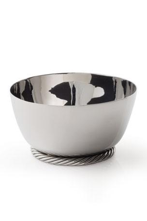 Serve ware Antique Shape Horn Mold Bottom Serving Plate Premium Quality Set Of 3