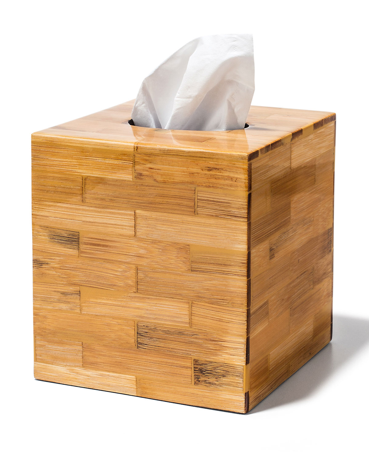 LADORADA Bamboo Tissue Box Cover