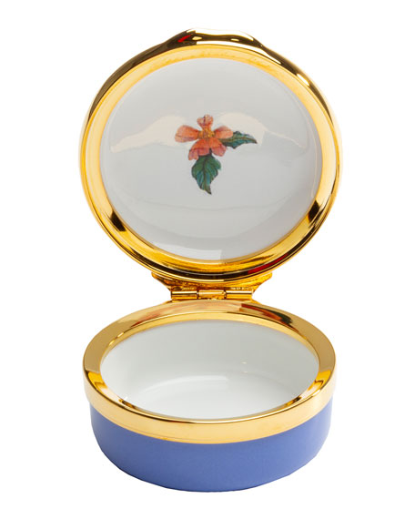 Image 2 of 2: Halcyon Days 2020 Happy Anniversary Enamel Box