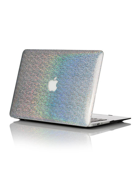 "Image 1 of 4: Chic Geeks Rainbow Hologram 15"" MacBook Pro with TouchBar Case"