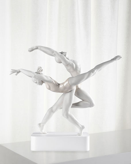 Image 1 of 3: Lladro The Art of Movement Figurine