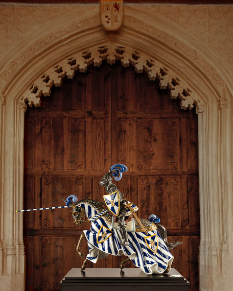 Image 2 of 2: Lladro Medieval Knight Figurine