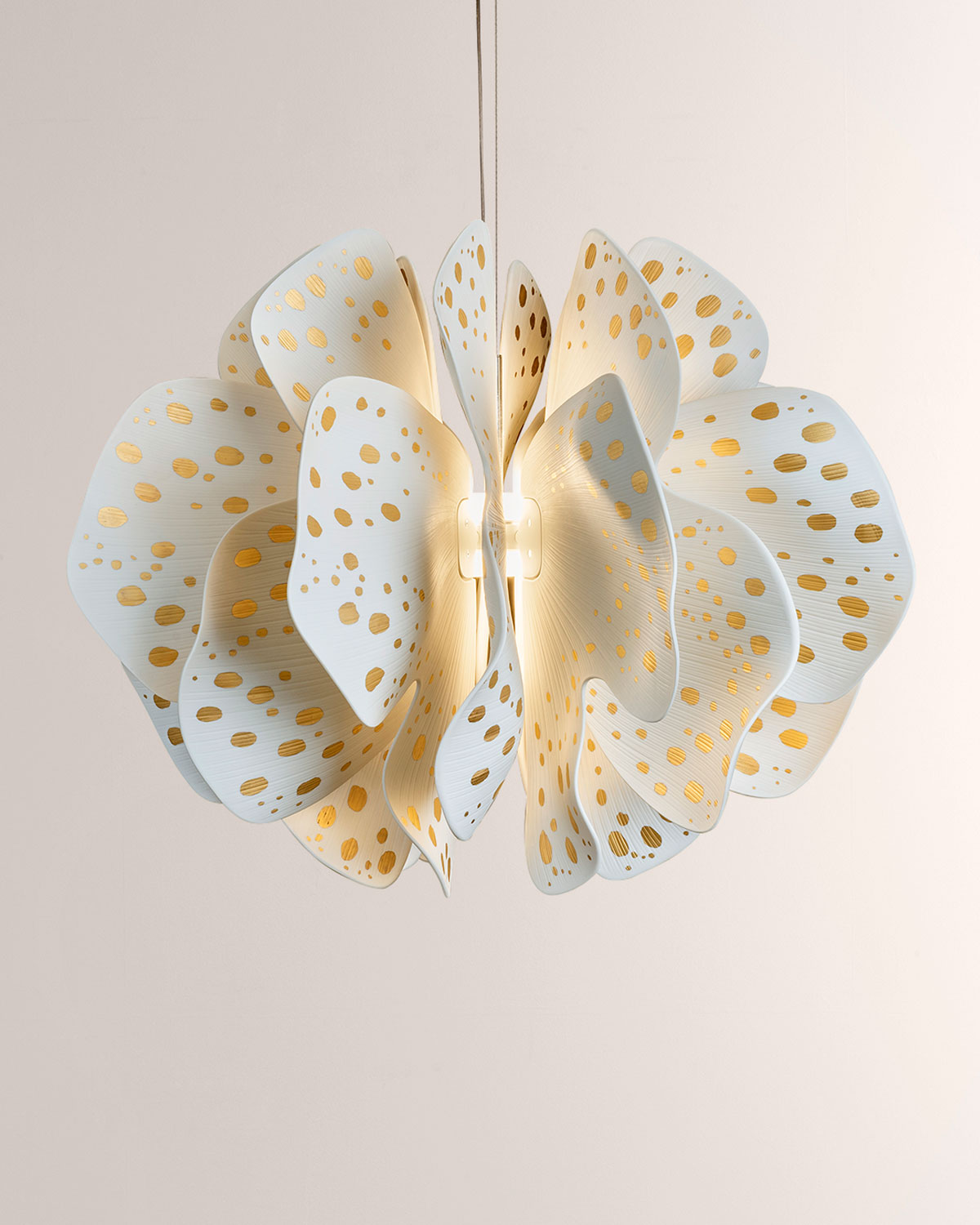 Lladro Nightbloom Hanging Lamp