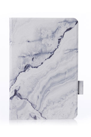 "Chic Geeks Gray Marble 9.7"" iPad Pro Case"