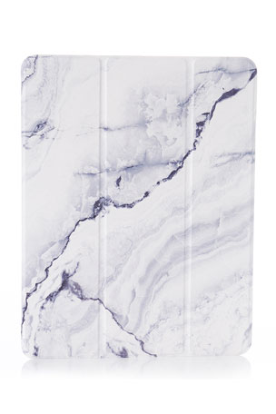 """Chic Geeks Gray Marble 12.9"""" iPad Pro Case - 3rd Generation"""