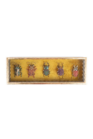 MacKenzie-Childs Entomologist Rectangle Shadow Box
