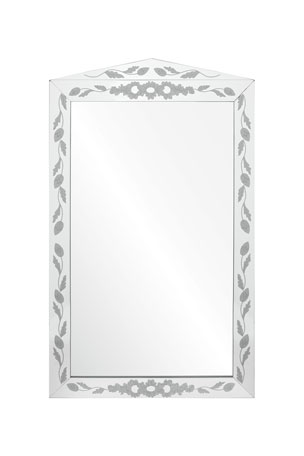 Mirror Image Etched Mirror Framed Mirror