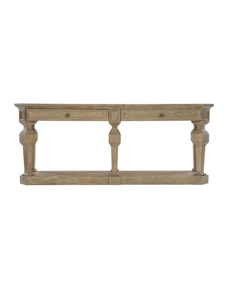 Image 2 of 3: Bernhardt Villa Toscana Console Table