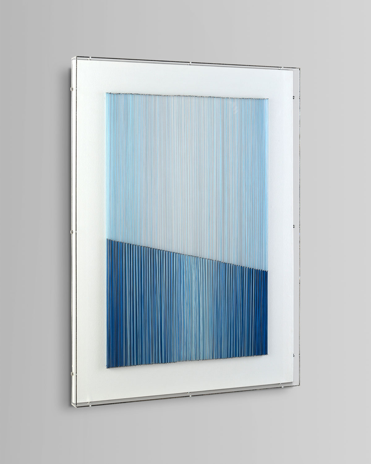 "John-Richard Collection ""Blue Vista III"" Art Print by Mark McDowell"