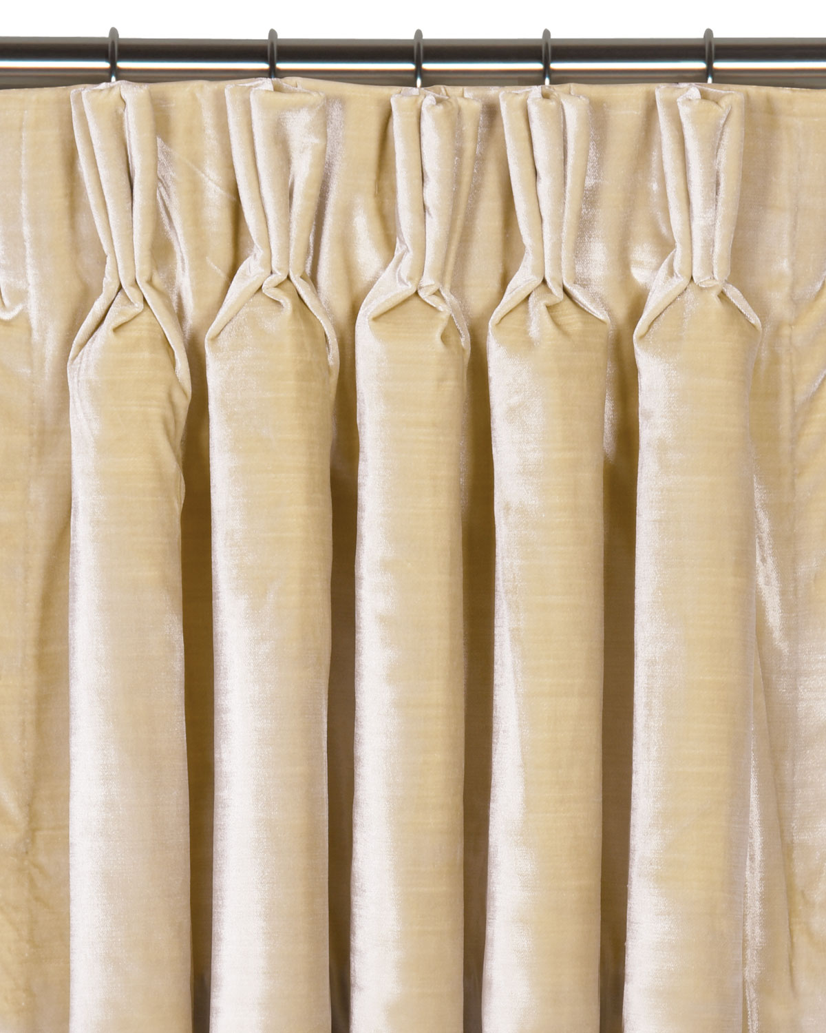 "Eastern Accents Winchester Pinch Pleat Curtain Panel, 96""L"