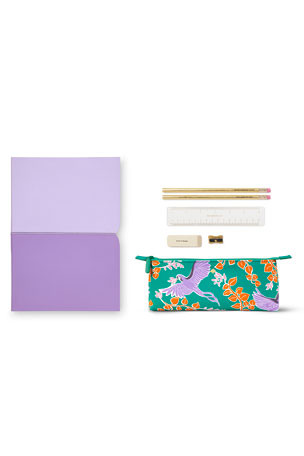 kate spade new york plunge notebook & pencil case