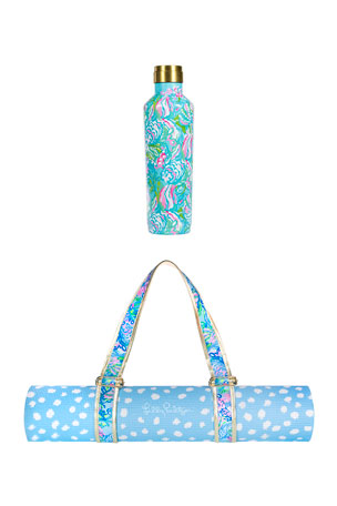 Lilly Pulitzer Aqua La Vista Wellness Set