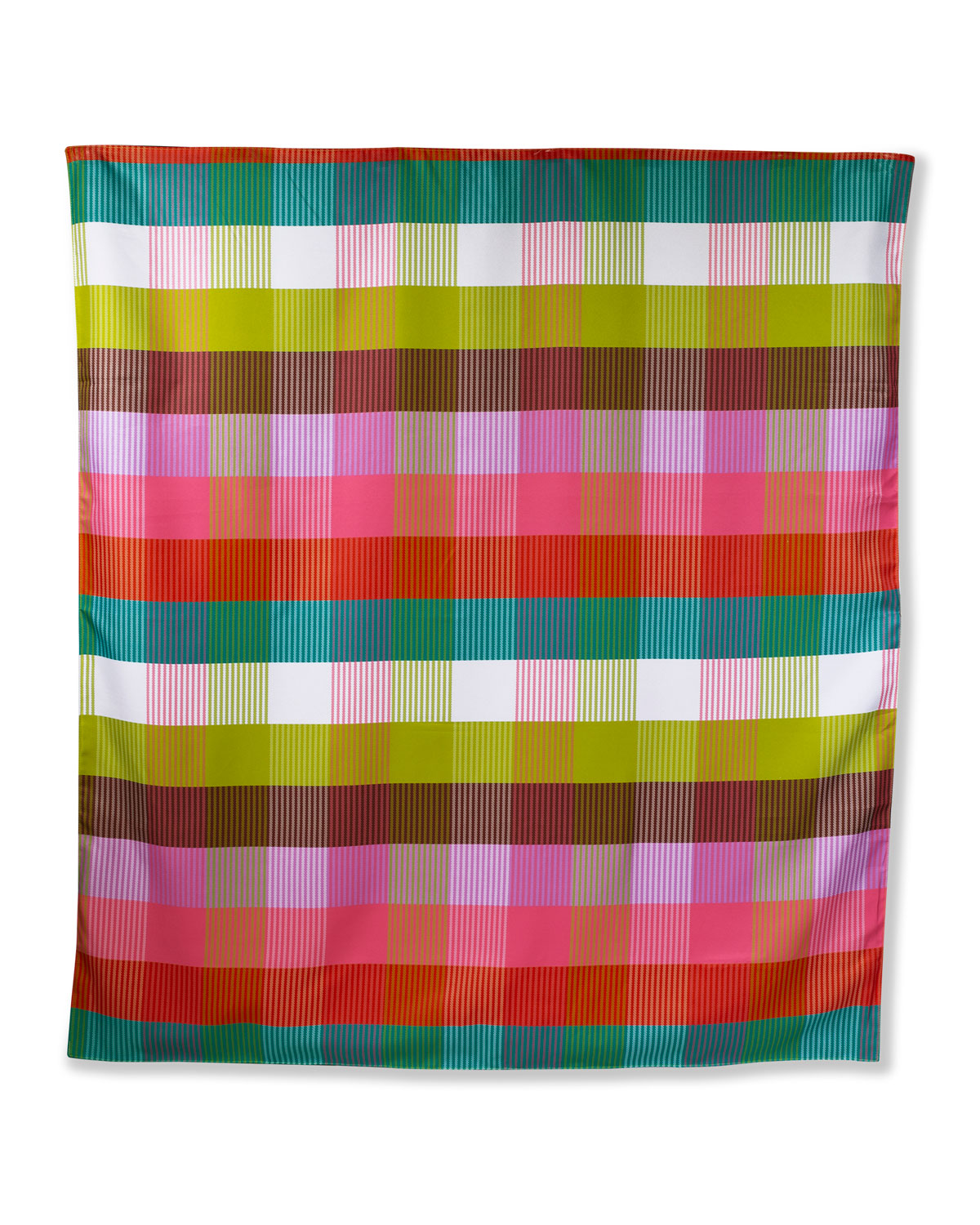 kate spade new york rainbow plaid picnic blanket