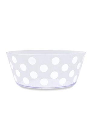 kate spade new york jumbo dot acrylic serving bowl
