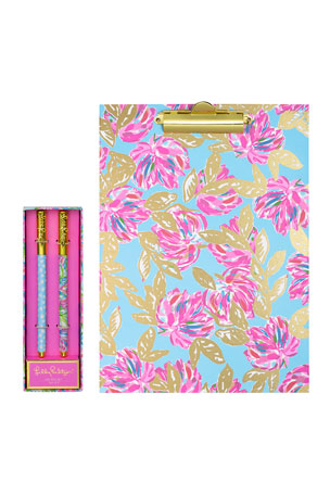 Lilly Pulitzer Totally Blossom Stationery Set