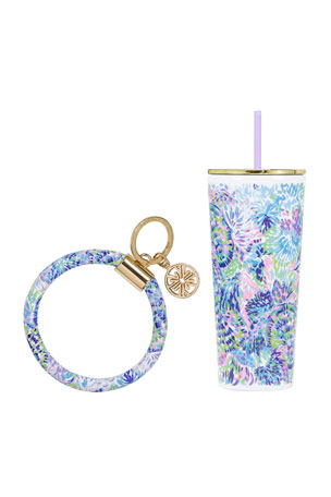 Lilly Pulitzer Shell of a Party On The Go Set