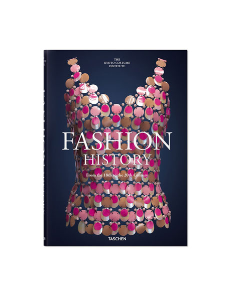 "Image 1 of 4: Taschen ""Fashion History From the 18th to the 20th Century"" Book"