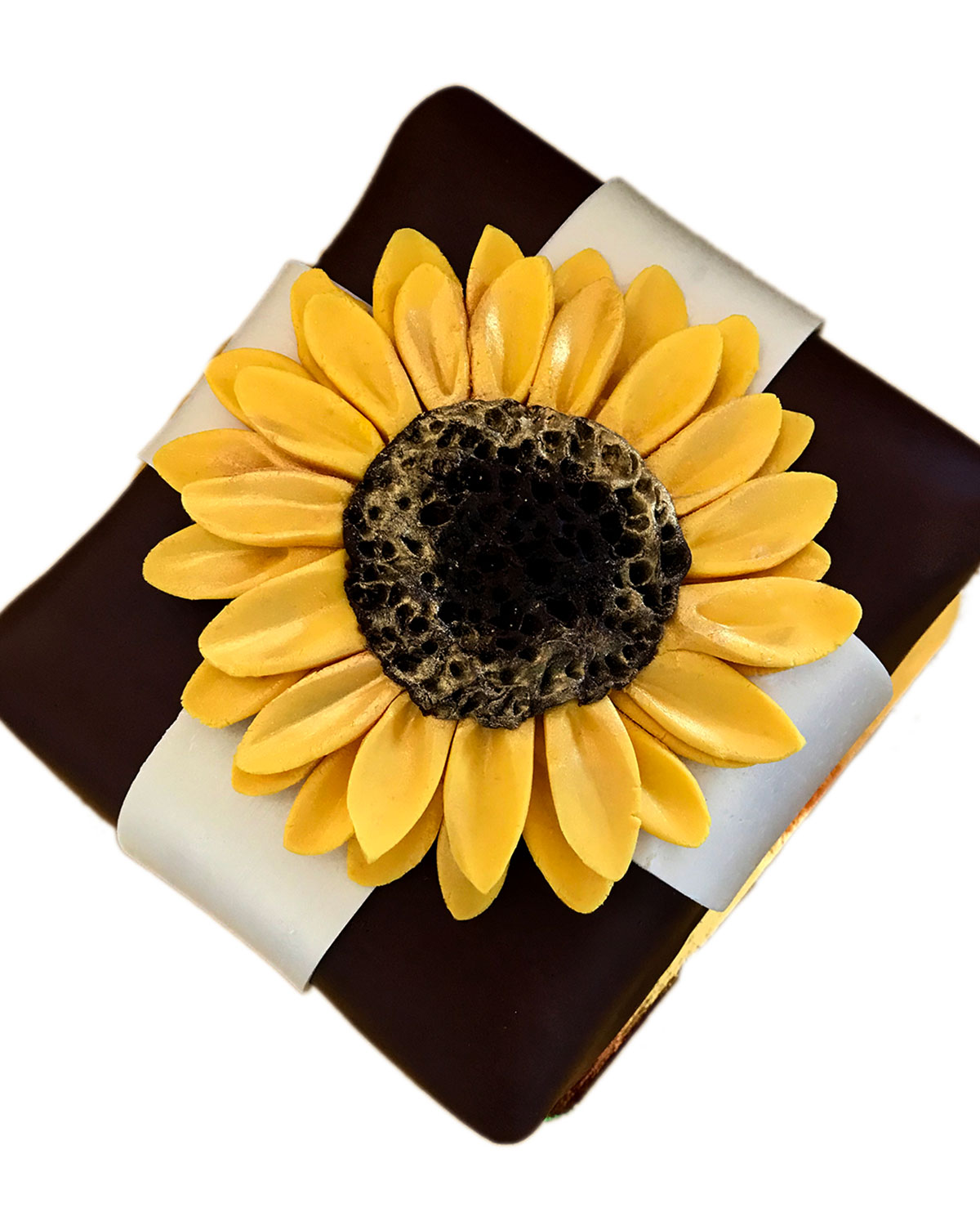 Elegant Cheesecakes Stunning Sunflower Cheesecake