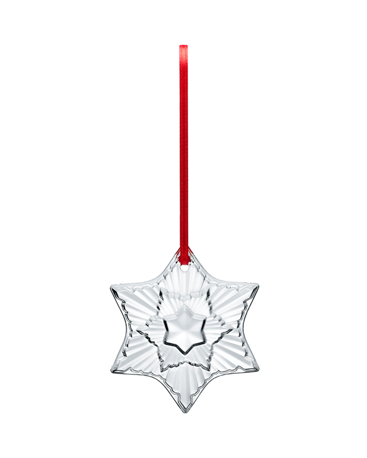 Baccarat 2020 Clear Annual Ornament