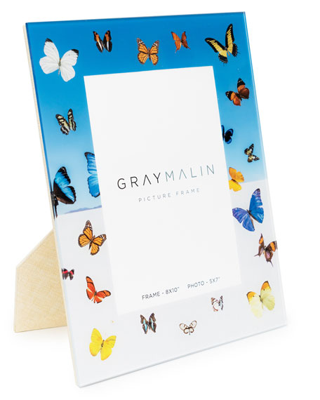 "Image 2 of 2: Gray Malin The Butterfly Picture Frame - 5"" x 7"""