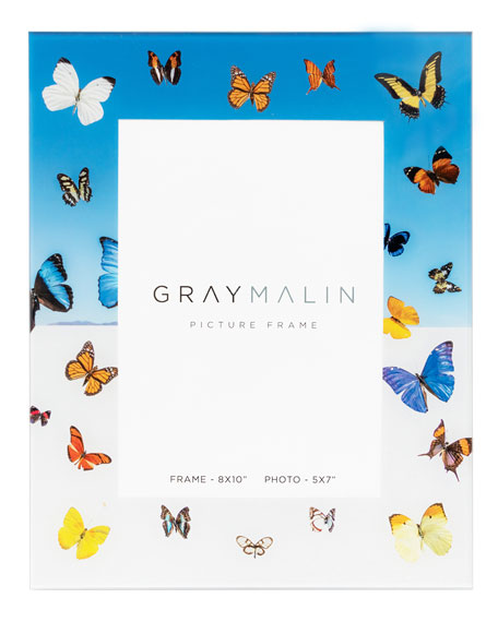 "Image 1 of 2: Gray Malin The Butterfly Picture Frame - 5"" x 7"""