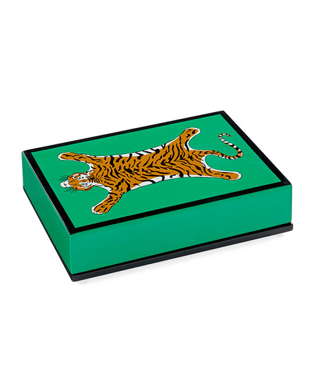 Image 2 of 2: Jonathan Adler Tiger Lacquer Card Set