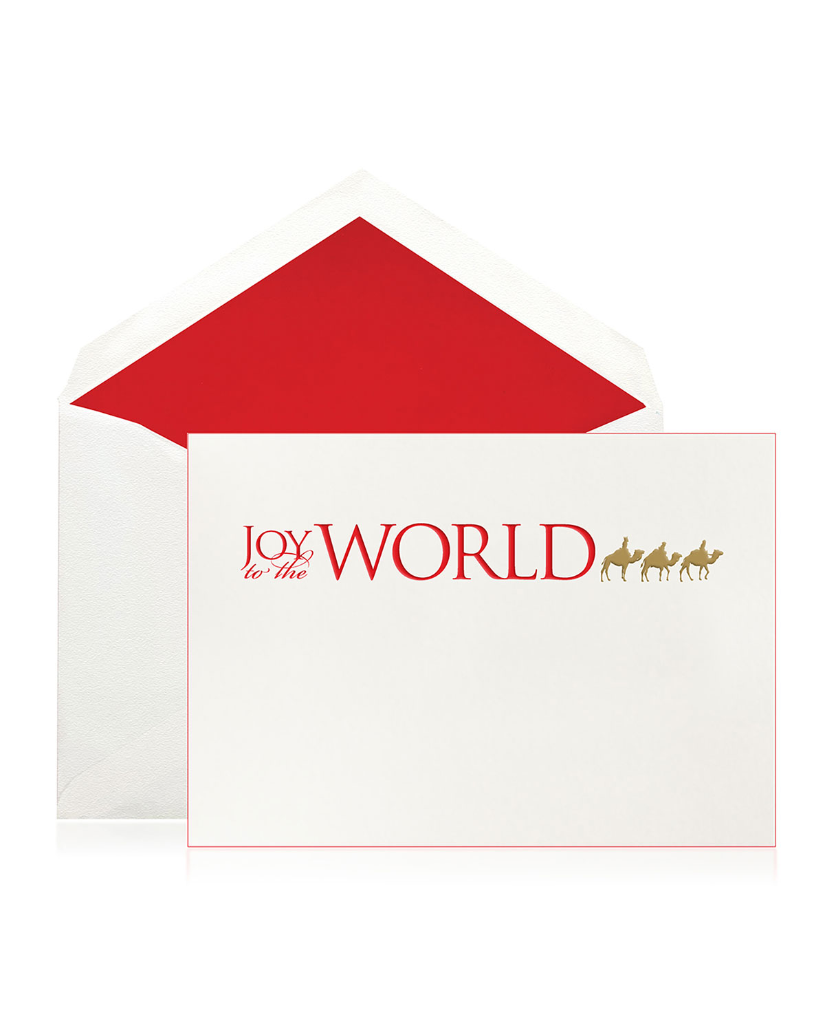 Bell'INVITO Joy To The World Holiday Cards - Boxed Set of 10