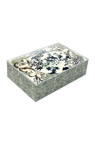 Louis Sherry Designer Collection John Derian Eastern Plate Truffle Tin