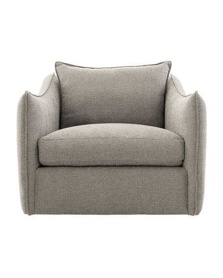 Image 1 of 4: Bernhardt Joli Swivel Chair