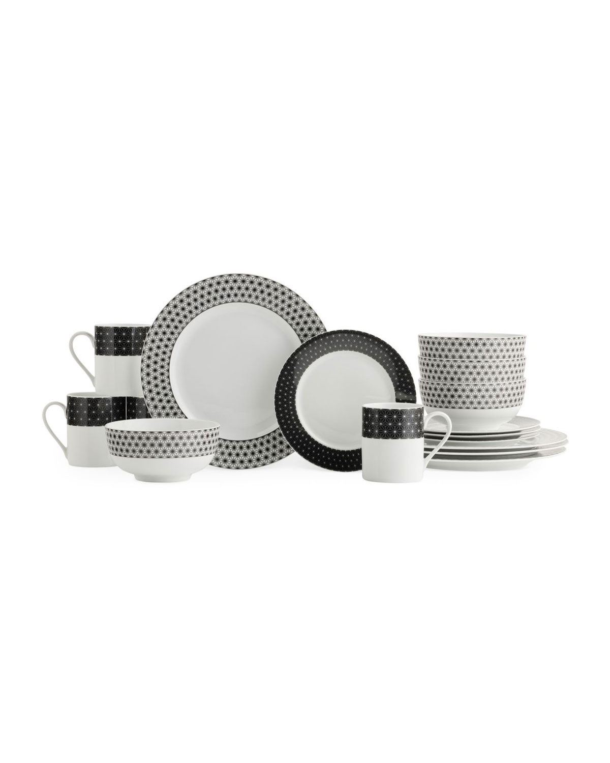 Spode Retrospect 16-Piece Dinnerware Set