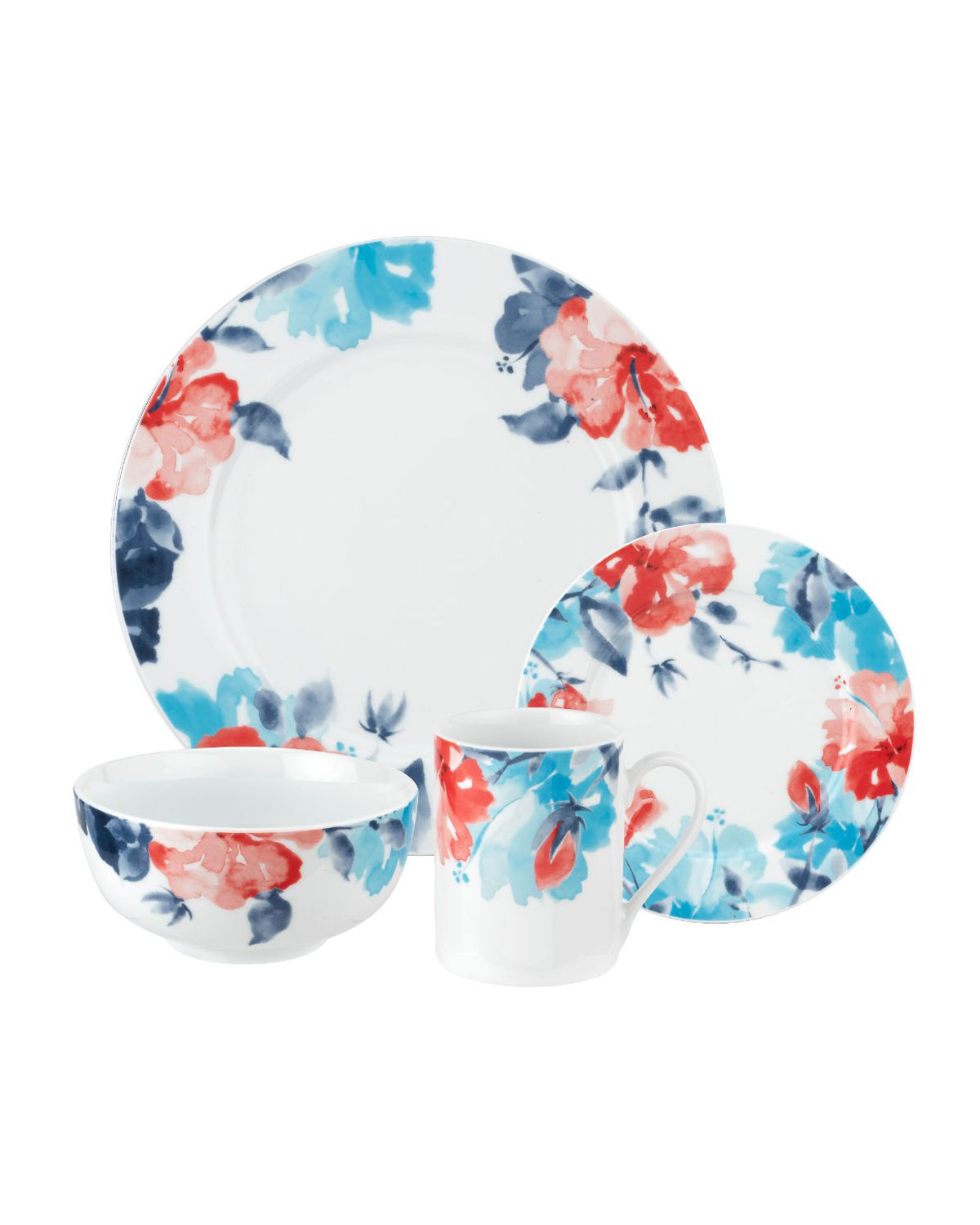 Spode Floral Breeze 16-Piece Dinnerware Set