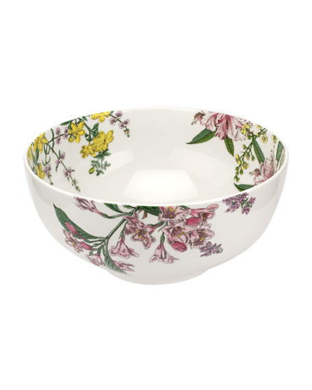 "Image 1 of 3: Spode Stafford Blooms 10.75"" Bowl"
